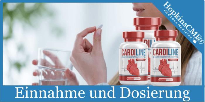 Ingesta y dosificación de cardilina