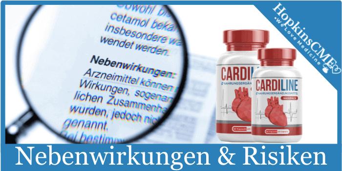 Efectos secundarios y riesgos de la cardilina
