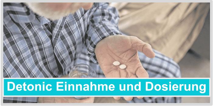 Ingesta y dosificación detonica