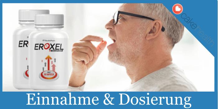 Aplicación de la dosis de ingestión de Eroxel